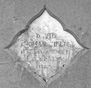 Epitaph of DT Willis