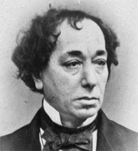 Benjamin Disraeli in an early photo