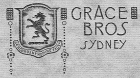 Grace Brothers crest and motto