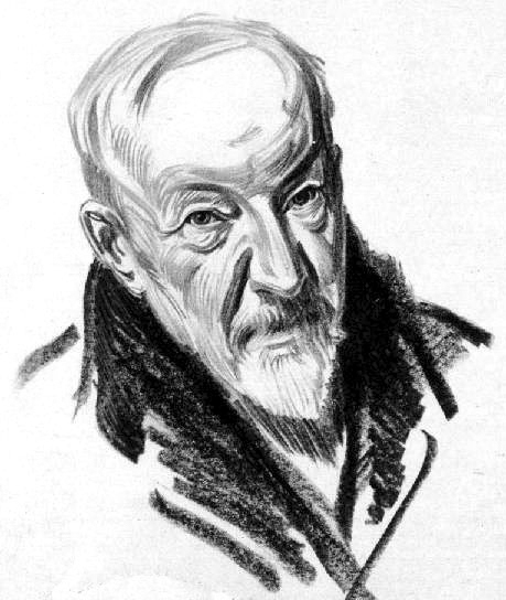 Drawing of H.A. Jones