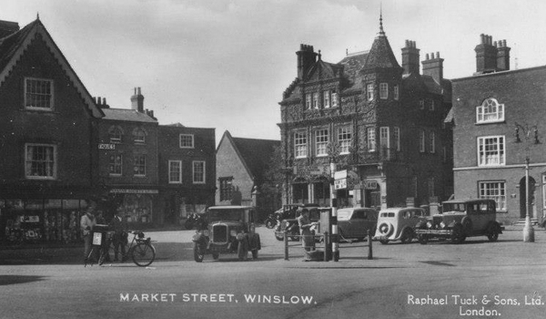 Market Square c1930 with St Laurence Room