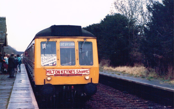 Milton Keynes shopper train