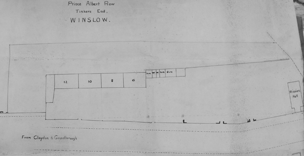 Plan of Prince Albert Row