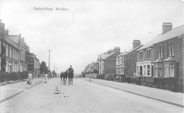Station Road looking north-east c.1906