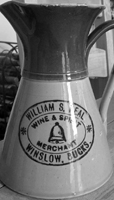 Jug with label of W.S. Neal