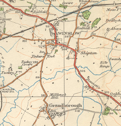 Ordnance Survey map, 1919