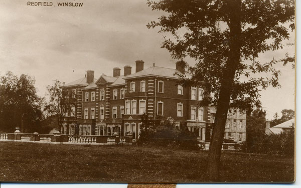 Postcard of Redfield