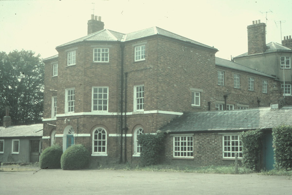 The former workhouse in the 1980s